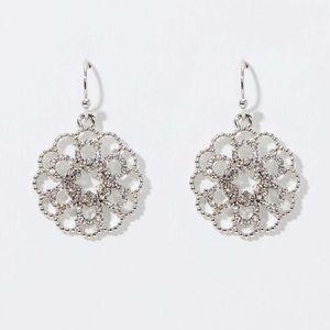 Loft crystal filigree earring